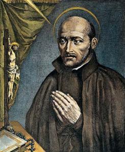 Ignatius as a Monk