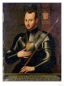 Ignatius as a soldier