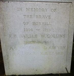 St Andrew's memorial