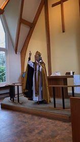 Bishop Jo blessing